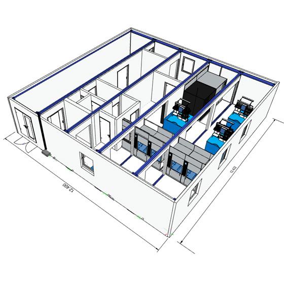 MiMo Tilburg 3D Plan